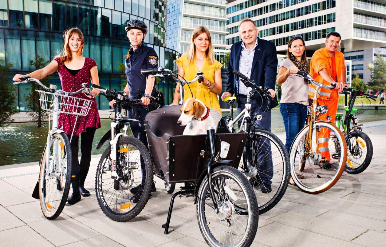Sonder-Aktion: Wien radelt zur Arbeit